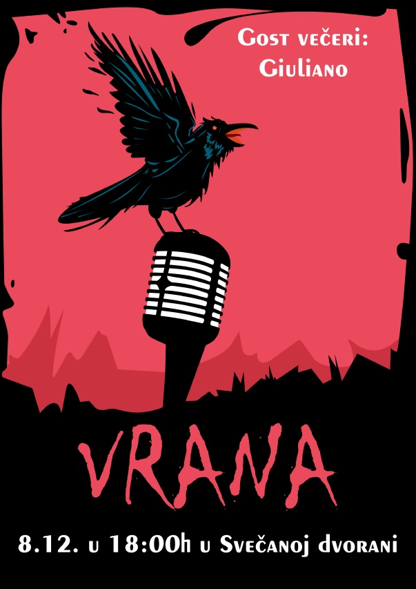 vrana plakat